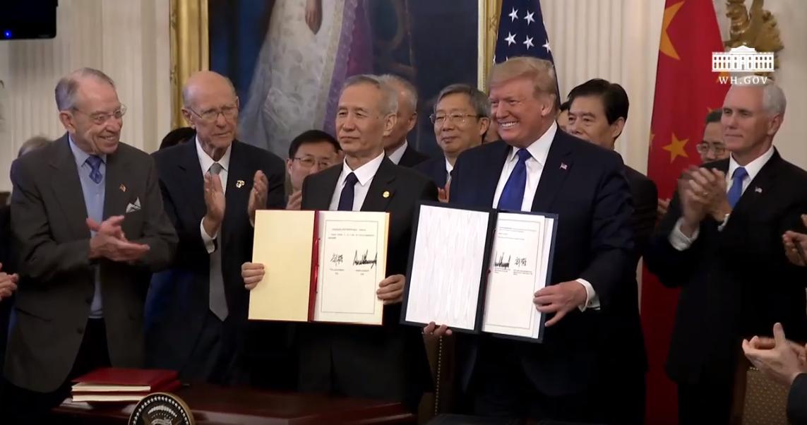China Signing