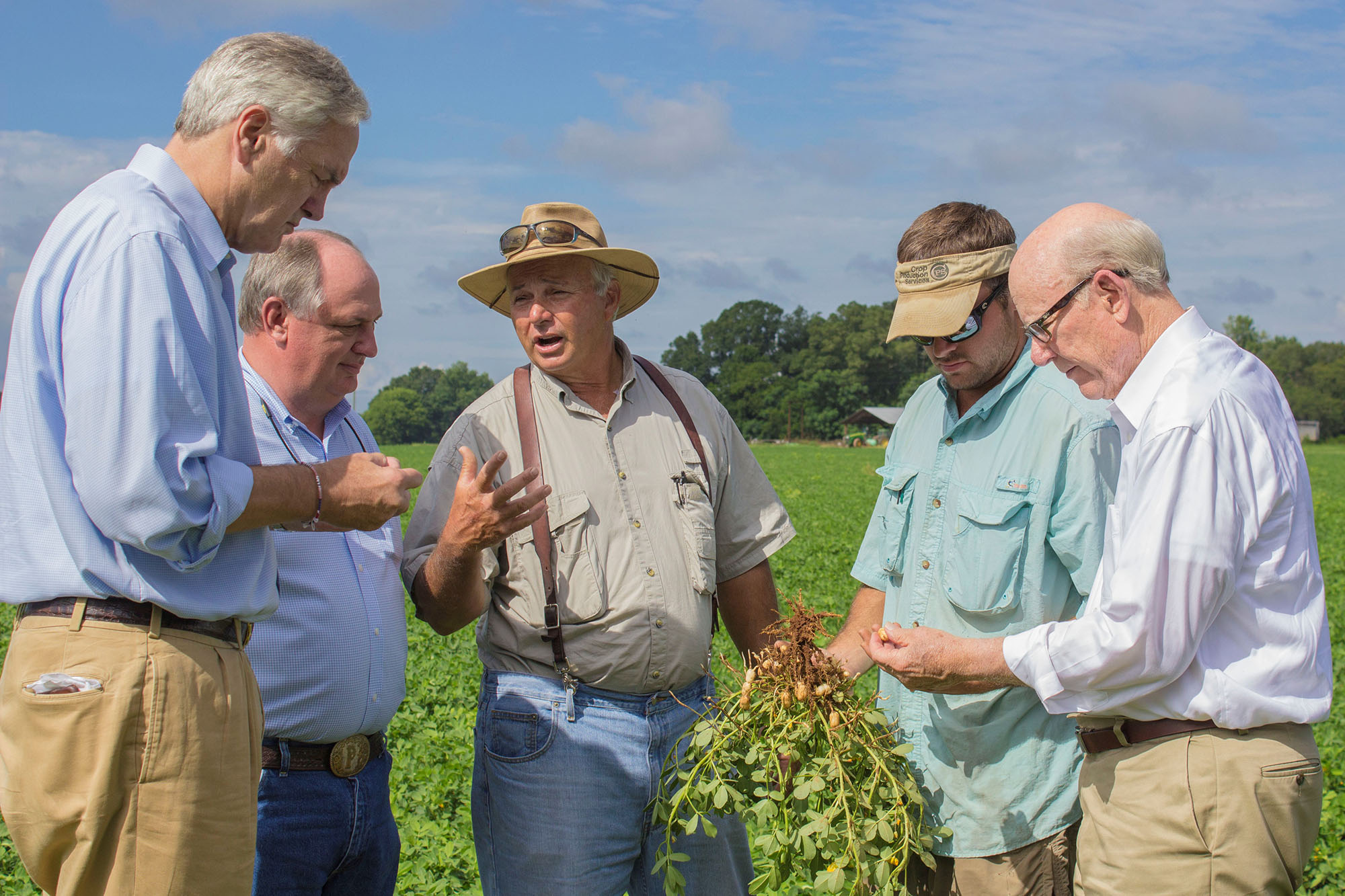 Roberts Strange farm tour