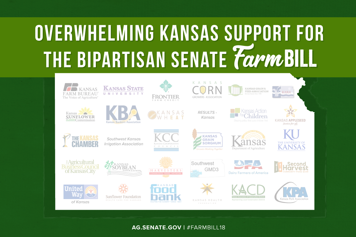 Kansas Farm Bill 2018 Support