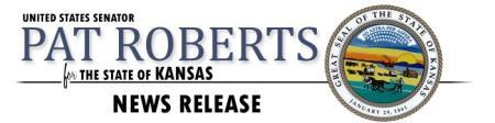 Senator Roberts Makes History